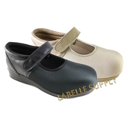 f02c80895c Pedors Mary Jane Stretch Orthopedic Shoes, #500 Black, #501 Beige ...