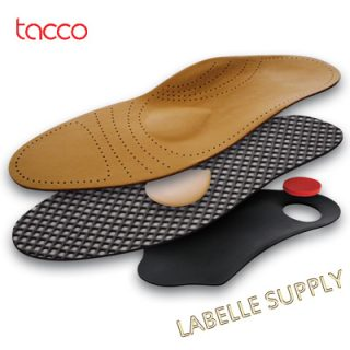 Tacco Deluxe Orthotic Insoles