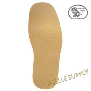 American Eagle Flexible Tannage Leather Full Soles