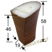 #553045 Leather Heels