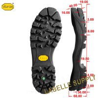 Vibram 1450 Clusaz Full Soles with dimension