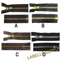 YKK Premade Metal Zippers
